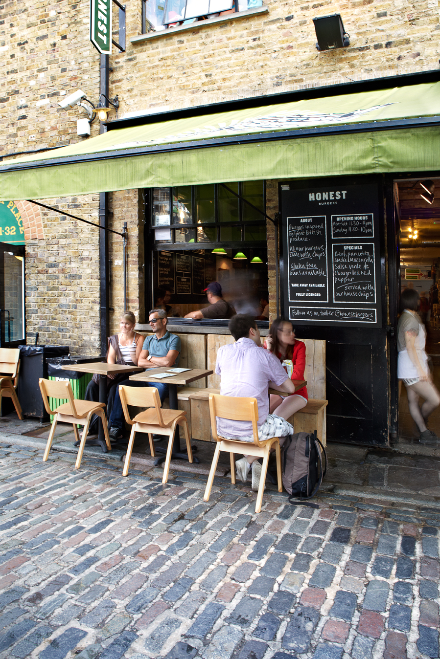 The new site now open in Camden Market