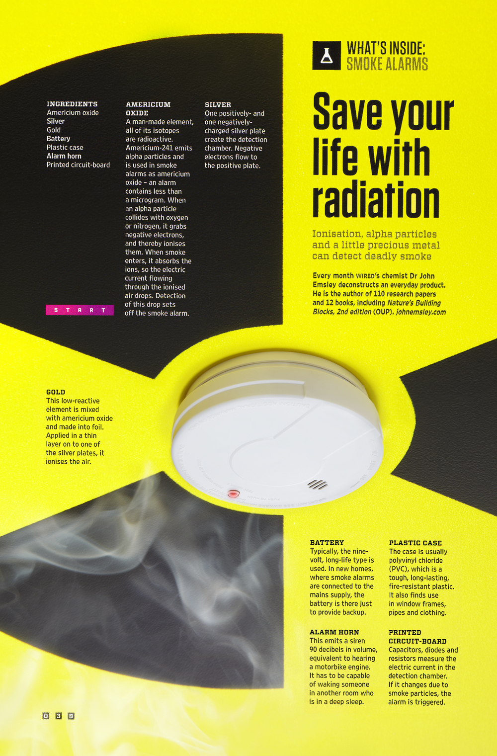Wired: What's Inside Smoke Alarms