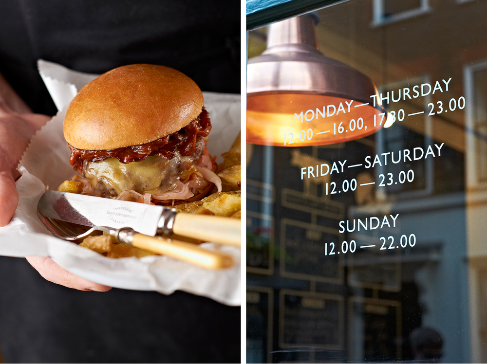 food photography london food photographer london recipe advertising cook book cook editorial packaging design graphic bold bright vibrant lighting lit flash photoshop still life photographer photography still-life still-life restaurant restaurants cafe eating eat   dinner lunch breakfast meal cooking burger honest hand tray bowl greaseproof grease proof cheese fries fries chip chips triple cooked double twice salt rosemary apron hands pickle brioche cheese cheddar patty melt ooze gerkhin pickle gherkin onion red chutney said shiny gloss delicious hungry