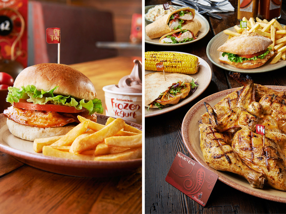 Nando's: Nandinos Burger & Chicken Stamp Deals.