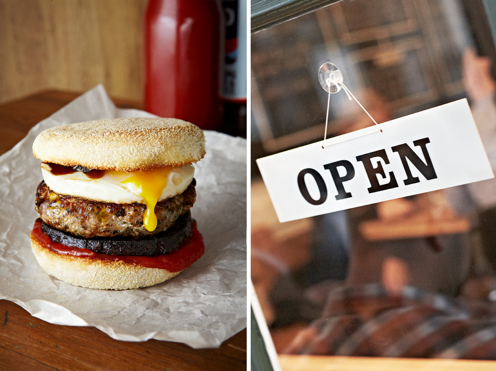 Honest Burgers: Breakfast Menu.
