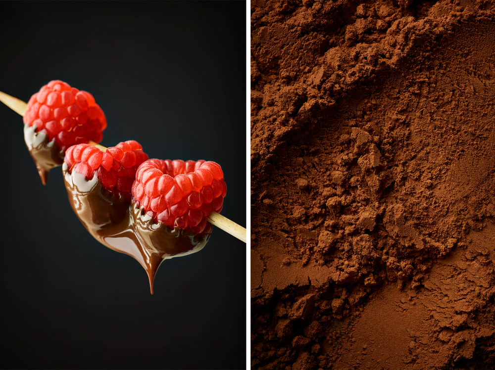Chocolate: Raspberry Chocolate Fondue & Cocoa