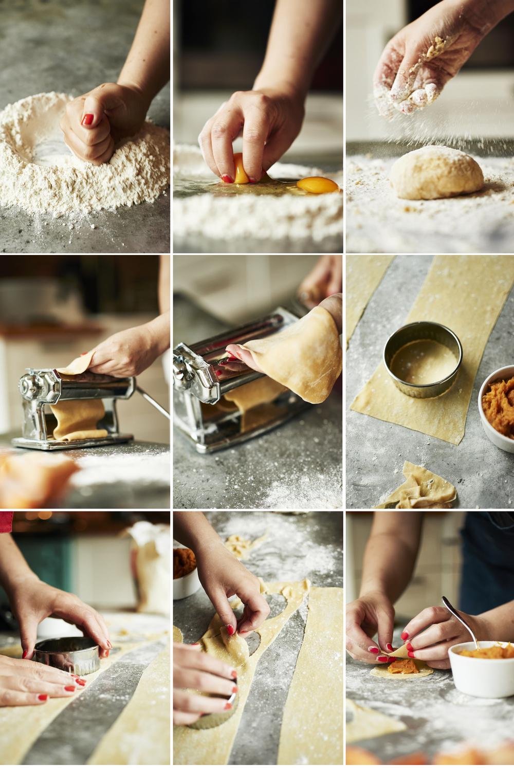 Italy: Making Ravioli