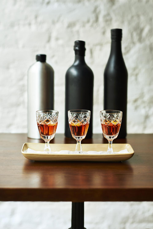 BOTTLE AGED SAZERAC:rye whiskey - sugar - bitters - absinthe