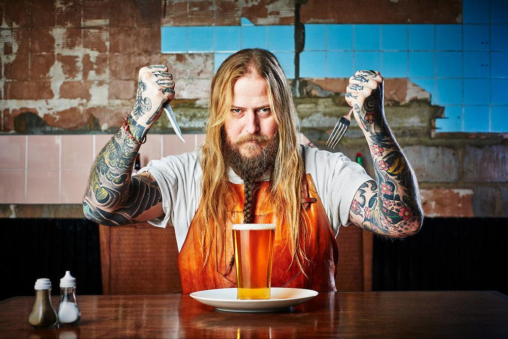 How To Eat Beer: Shortlist Magazine