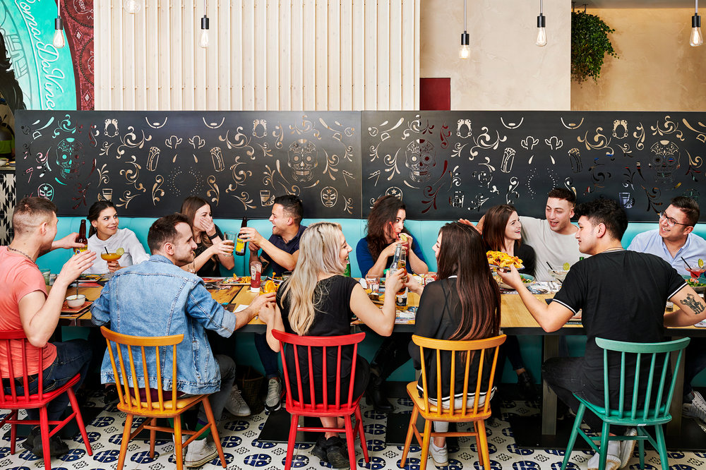 Calavera Mexican Restaurant Chain in Italy: Social Eating