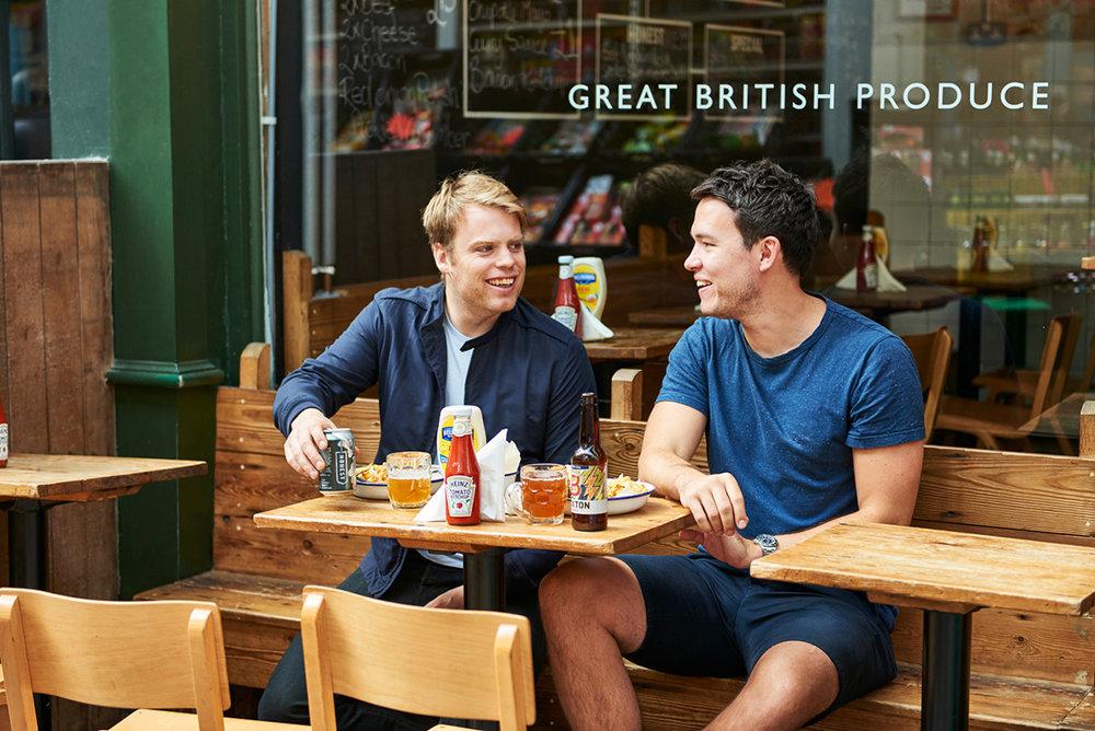 Honest Burgers: Tom & Phil, Founders.