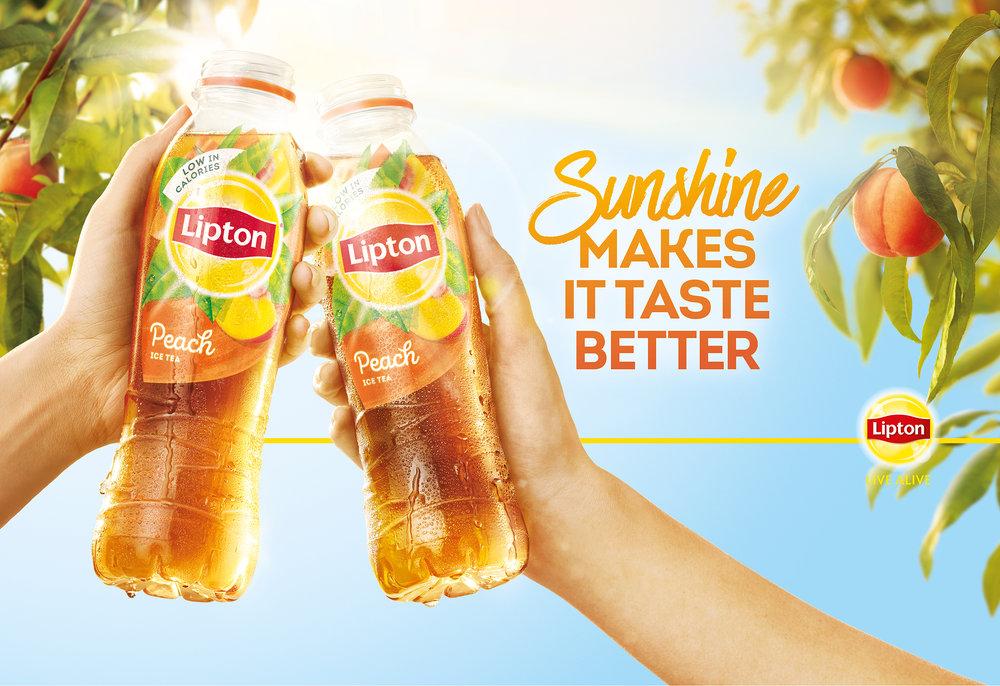 Lipton Ice Tea Advertising Campaign