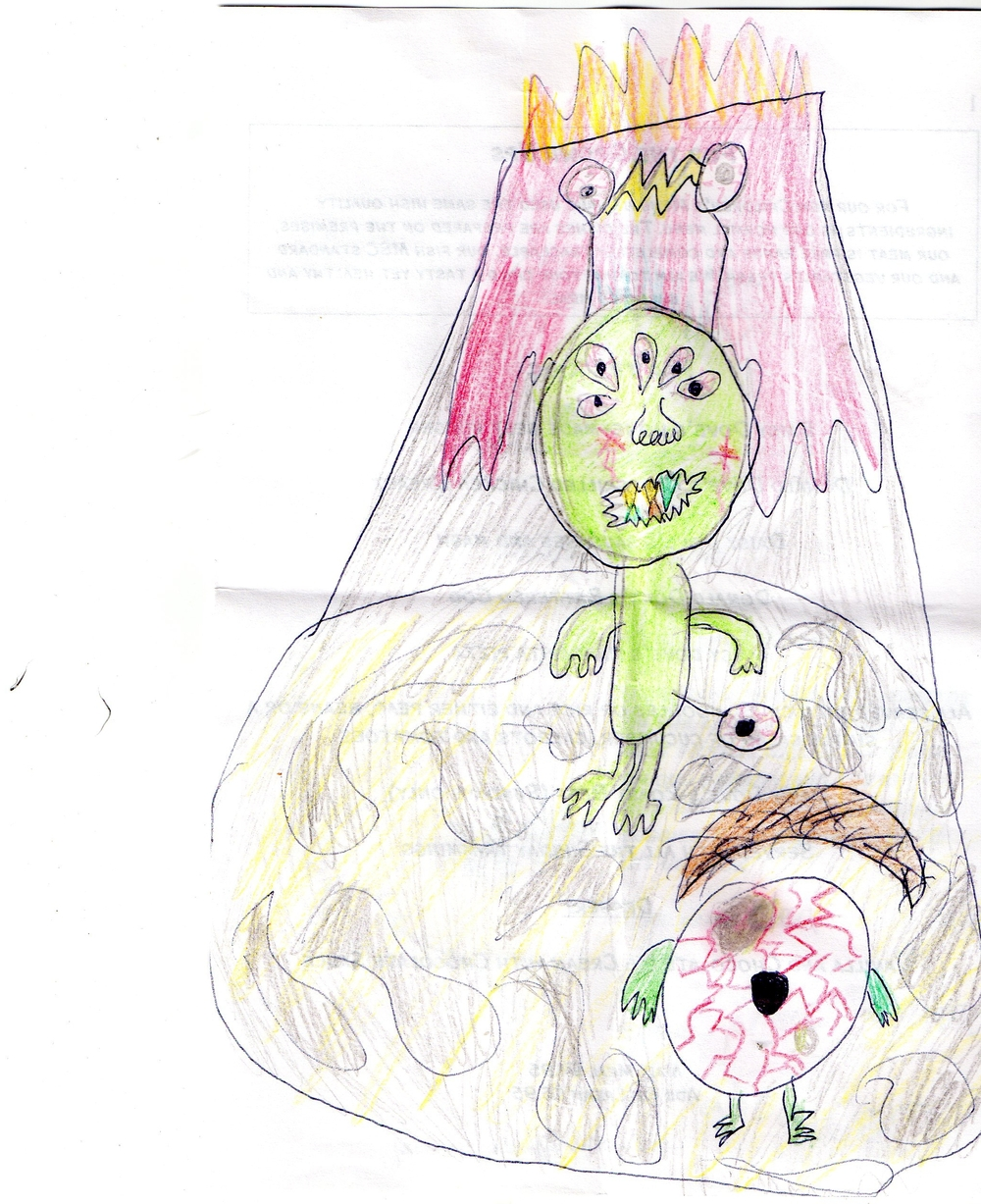 Winner of this weeks children's drawing competition.