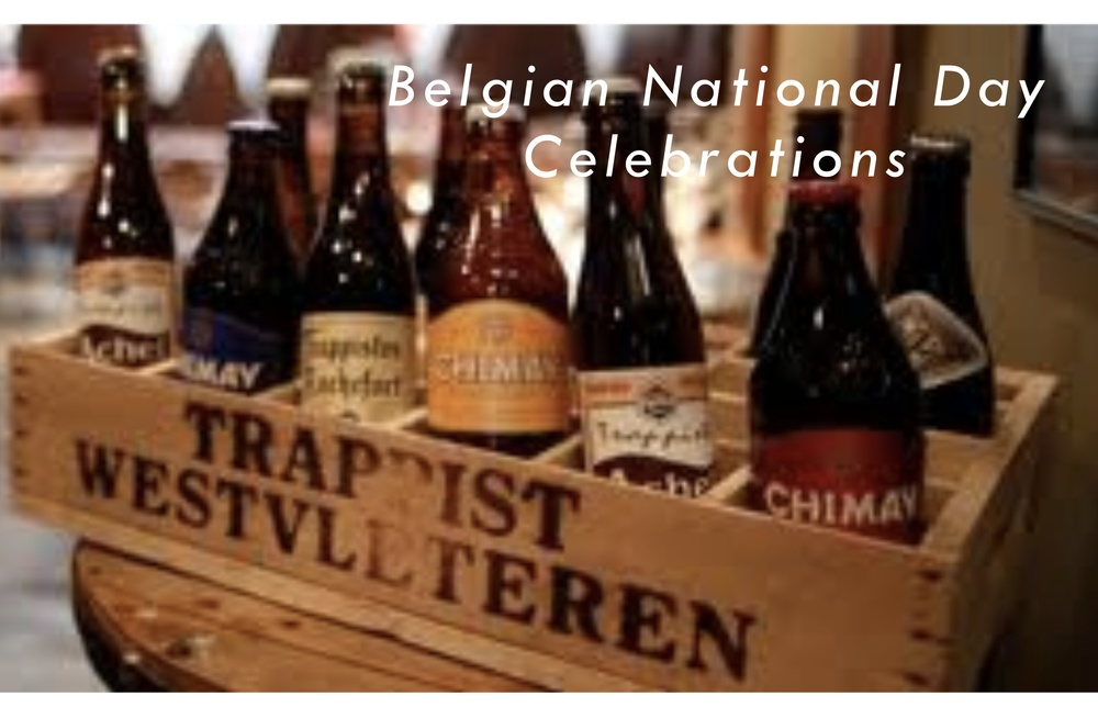 Belgian National Day Monday 21st July 2014.
