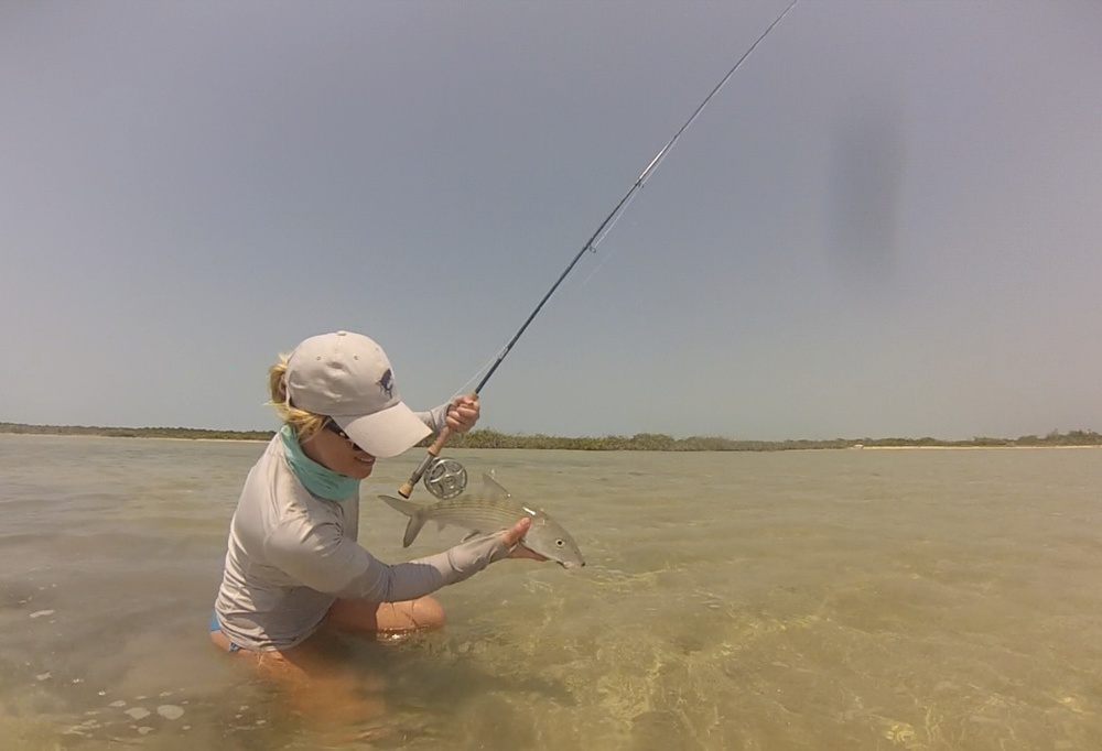 Two flights and I made my way to San Pedro. Next day nailing bonefish!