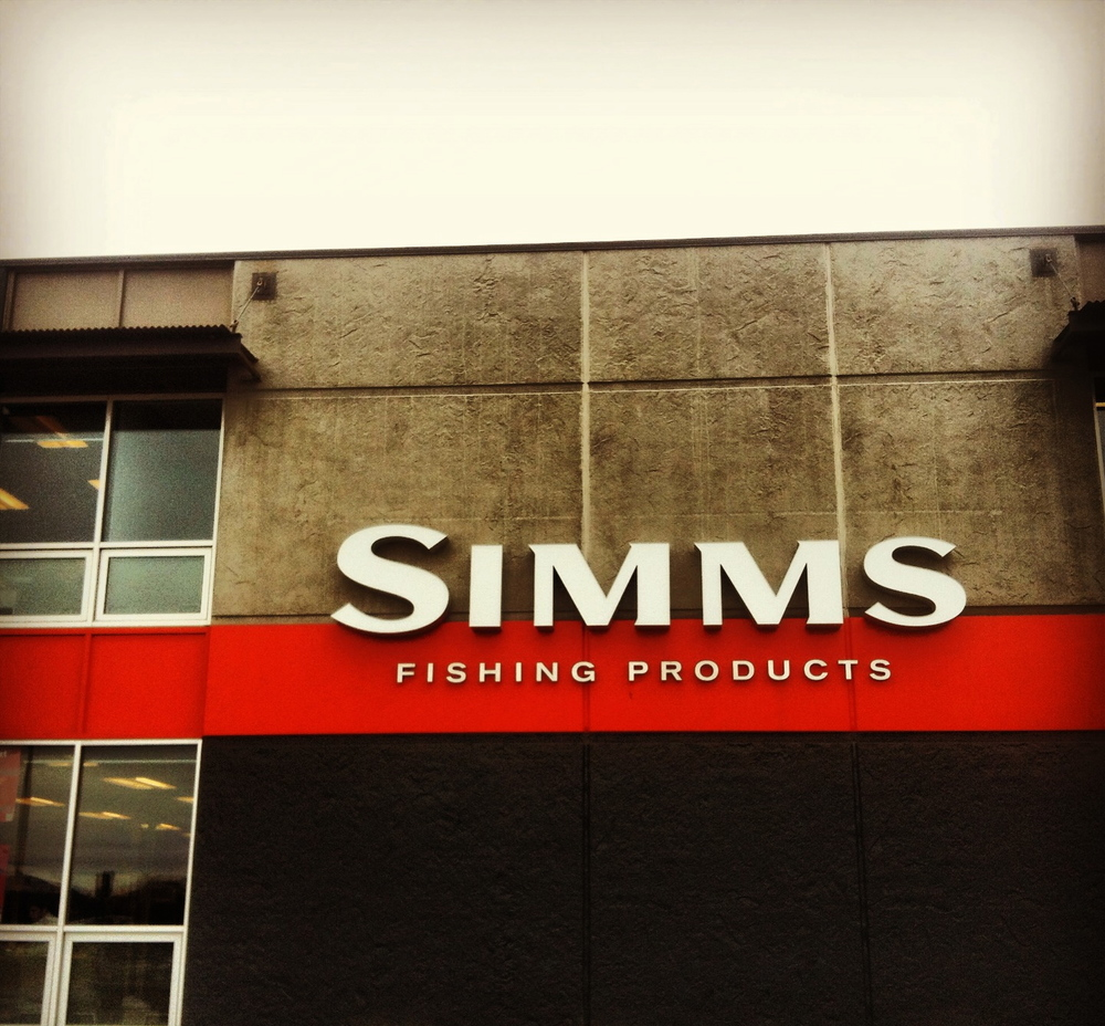 Short visit to Bozeman, got to meet all the great folks over at Simms Fishing. 'Waypoints' premiere  was kick ass & Yellow Dog Flyfishing parties were flippin' sweet!!
