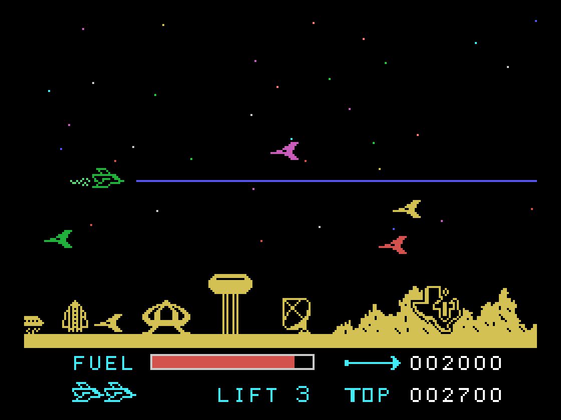 Parsec,  1982 Texas Instruments