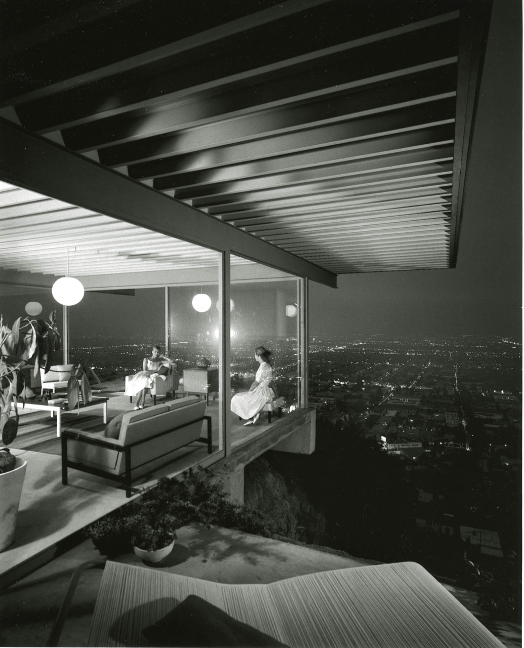 Case Study House #22,  1960   Julius Shulman (1910-2005)
