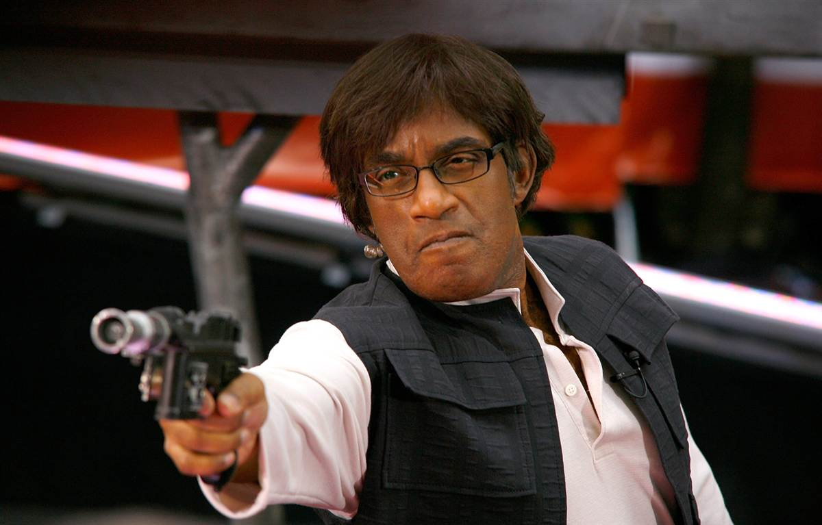 Al Roker as Han Solo , October 30, 2009