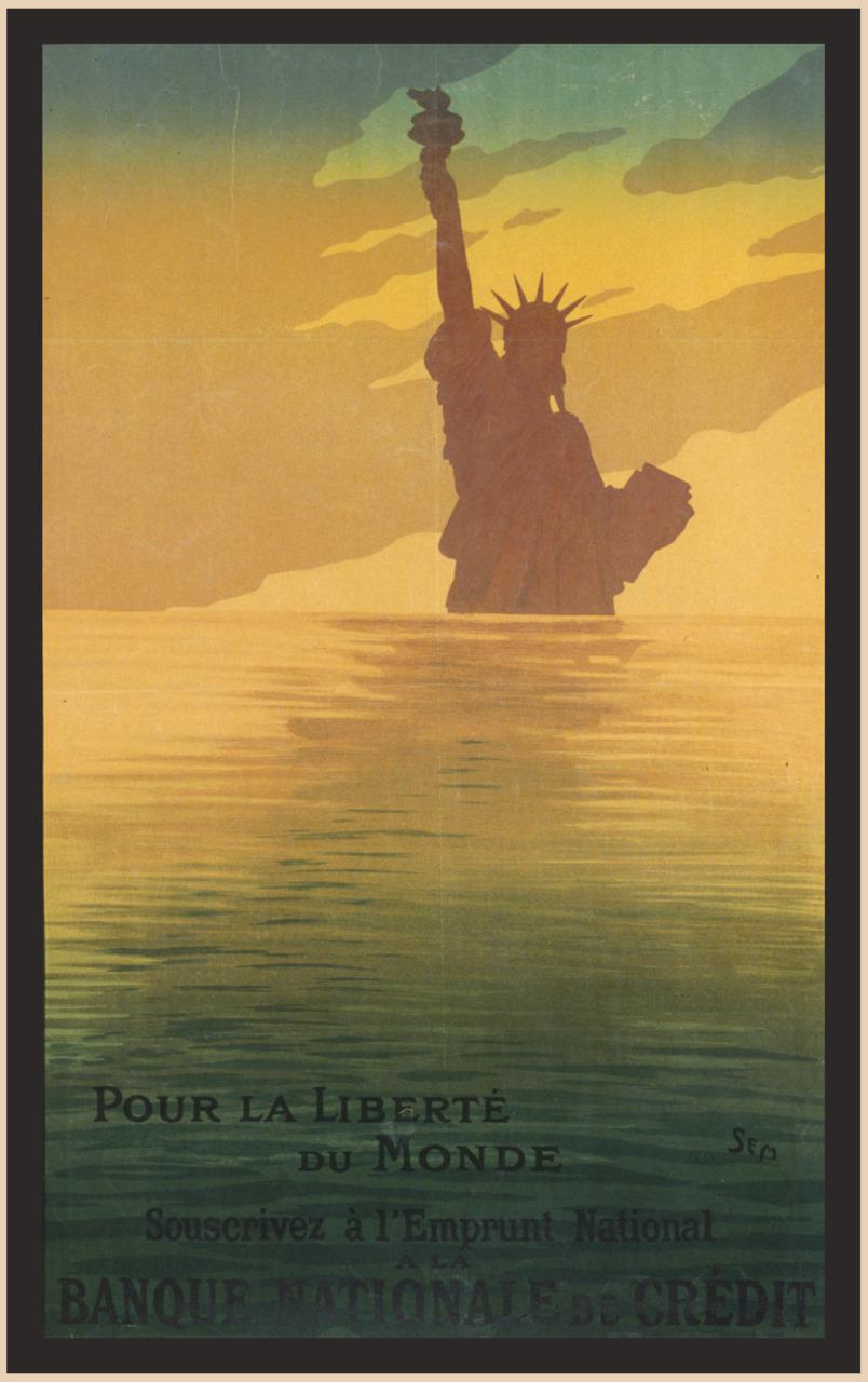Pour la Liberté du Monde,  1917 Sem (French, 1863, 1934)