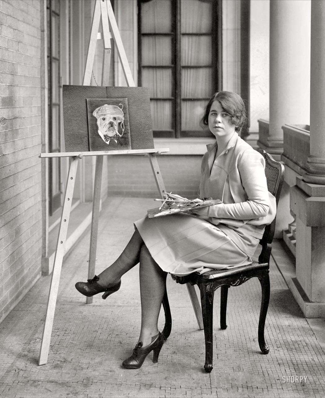 Margo Couzens, daughter of Senator Couzens , 1927 National Photo Company Collection