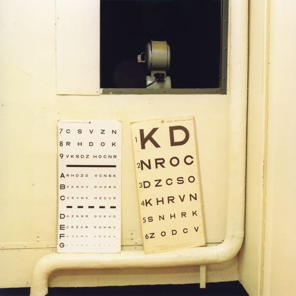 Eye Examination Room, Ship's Hospital, USS Hornet , 2008 Apollonia Morrill