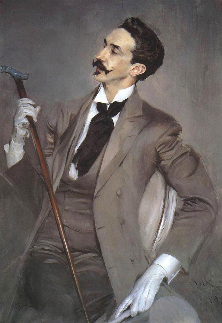 Count Robert de Montesquiou , 1897 Giovanni Boldini (Italian, 1842-1931)