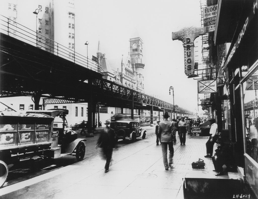 Sixth Avenue, South of Ninth Street