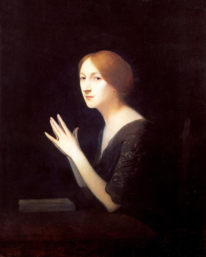 Portrait of Marguerite Moreno,  before 1899   JosephGranie   (1866-1915)