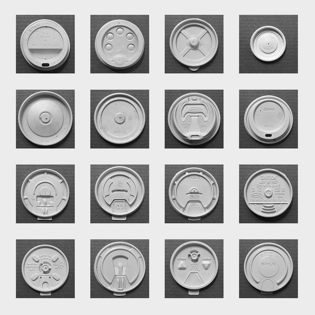 Take Out Beverage Lids , 2009  sarcoptiform