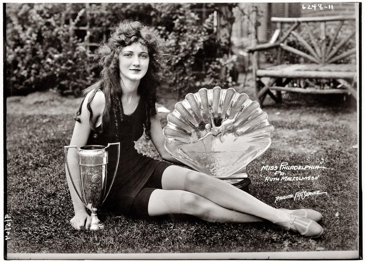 Miss Philadelphia , 1924 George Grantham Bain