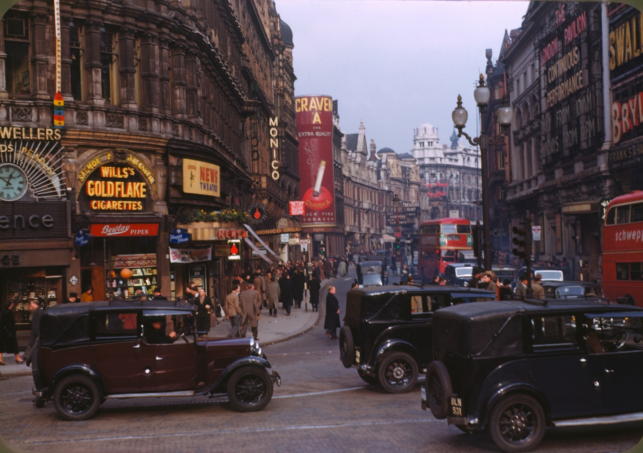 London , circa 1949  Chalmers Butterfield