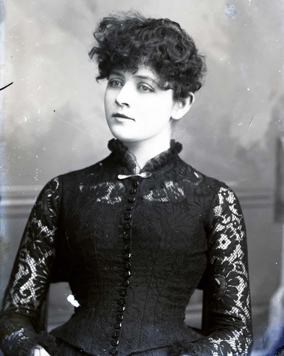 Unidentified Woman , late 1800s Hubert Jones