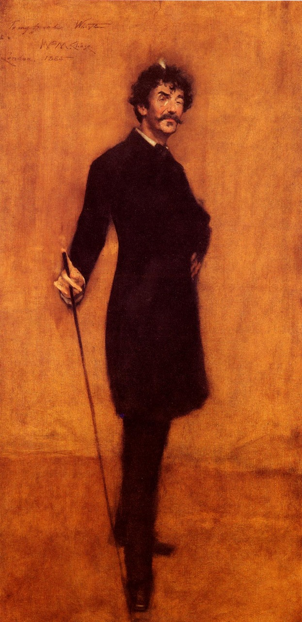 James Abbott McNeill Whistler , 1885 William Merritt Chase (American, 1849–1916)