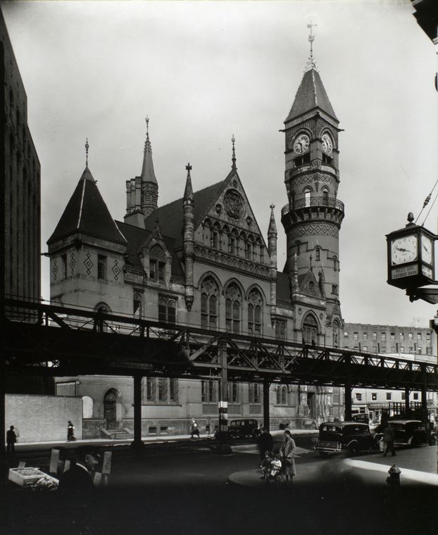 Jefferson Market Court , 1935 Berenice Abbott