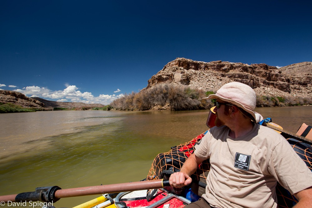 At the Dolores/Colorado River confluence