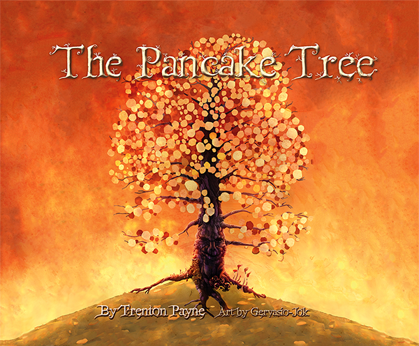 """Wait, step parents aren't all evil? And they battle monsters? Read all about it in """"The Pancake Tree""""."""