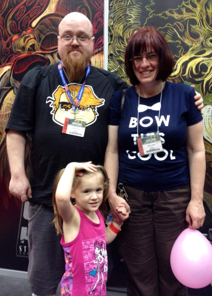 Me, Karen, and Katie Gen Con 2013!