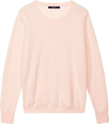 Crew-Neck-Fun to Pair With White Jeans For The In Between Weather, When Spring Hasn't Quite Sprung