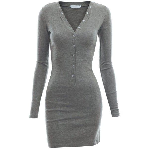 Henley Dress- Great Casual Day Dress To Run Errands