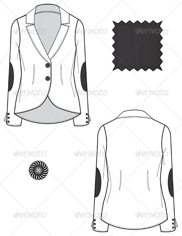Image via graphicriver.net - Flat Sketch