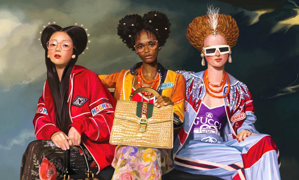 Image Via Fashionista.com - Gucci Campaign 2018