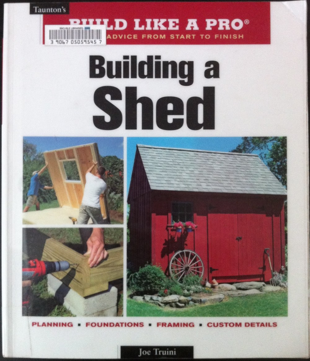 Building a Shed Joe Truini