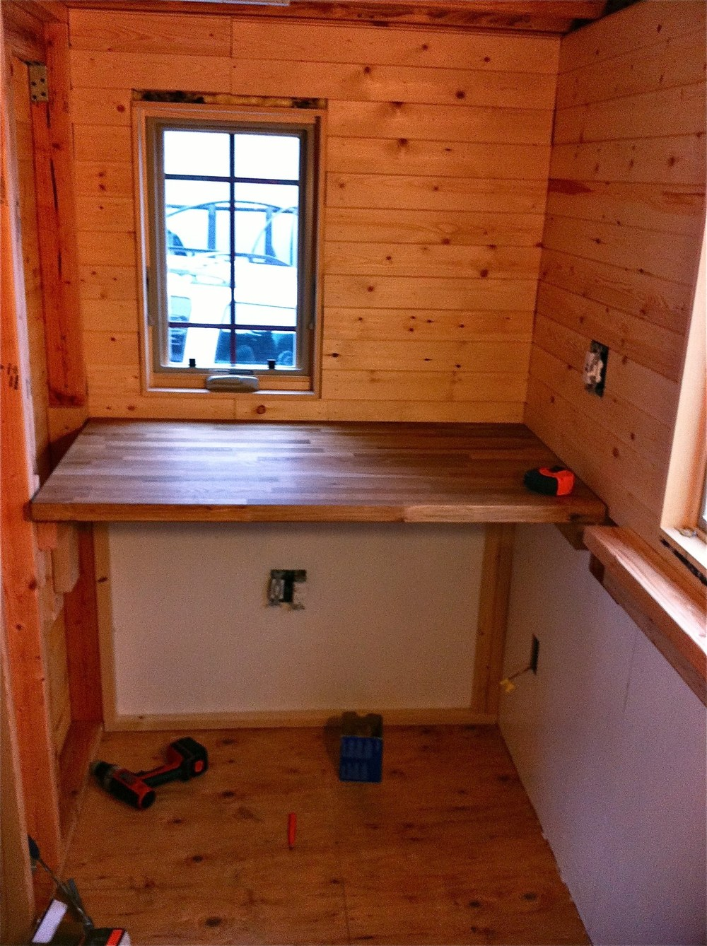 Flooring and Kitchen Cabinets — The Tiny Tack House