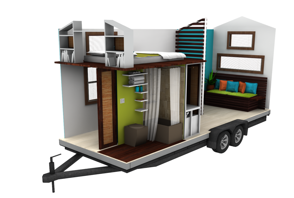 a not so tiny tiny house tiny house design using sketchup youtube portable tiny homes. Black Bedroom Furniture Sets. Home Design Ideas