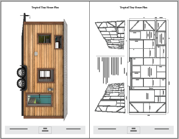 Tropical tiny house plans the tiny tack house for Small house design on wheels