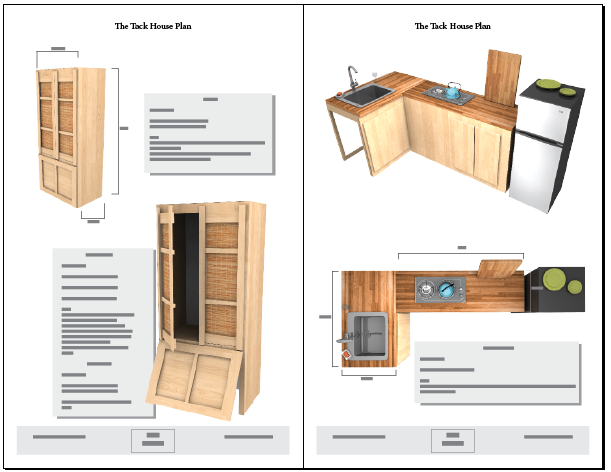 Tiny tack house plans the tiny tack house for Tiny home blueprints free