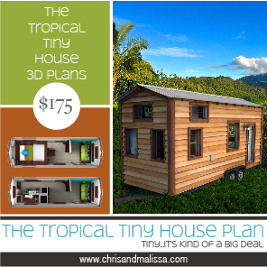 Tropical Tiny House Plan