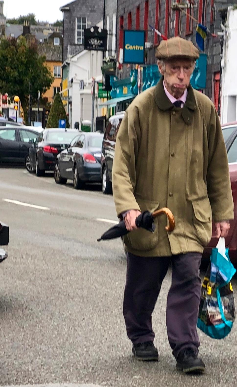 Random Irish Man - Lovely man walking in Kinsale, Ireland.iPhone XS Max