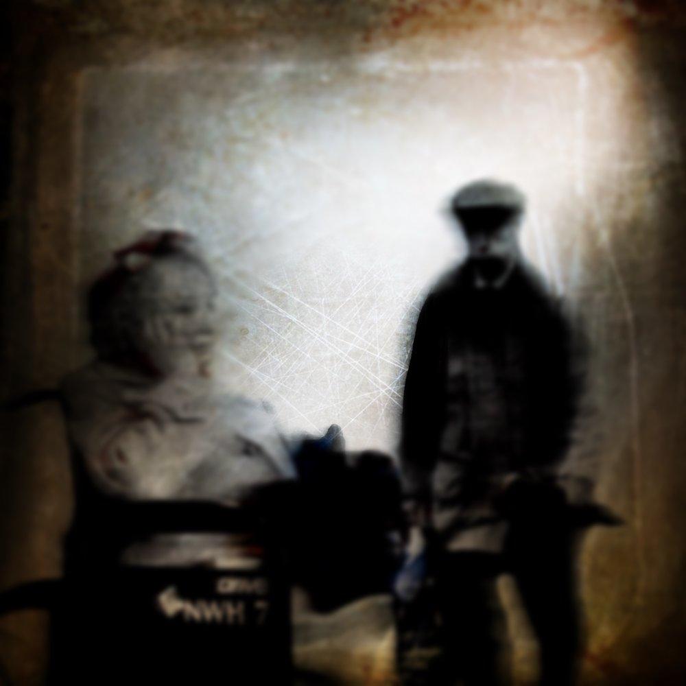 Is Harold stalking or seeking? - Procreate, iColorama, Distressed Fx