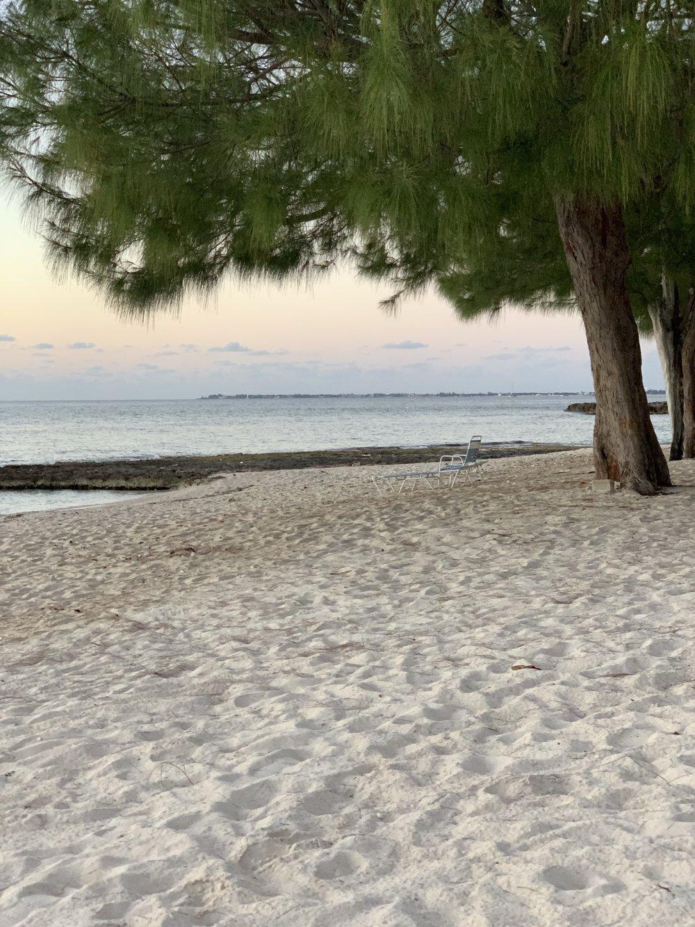 Bye, Cayman -