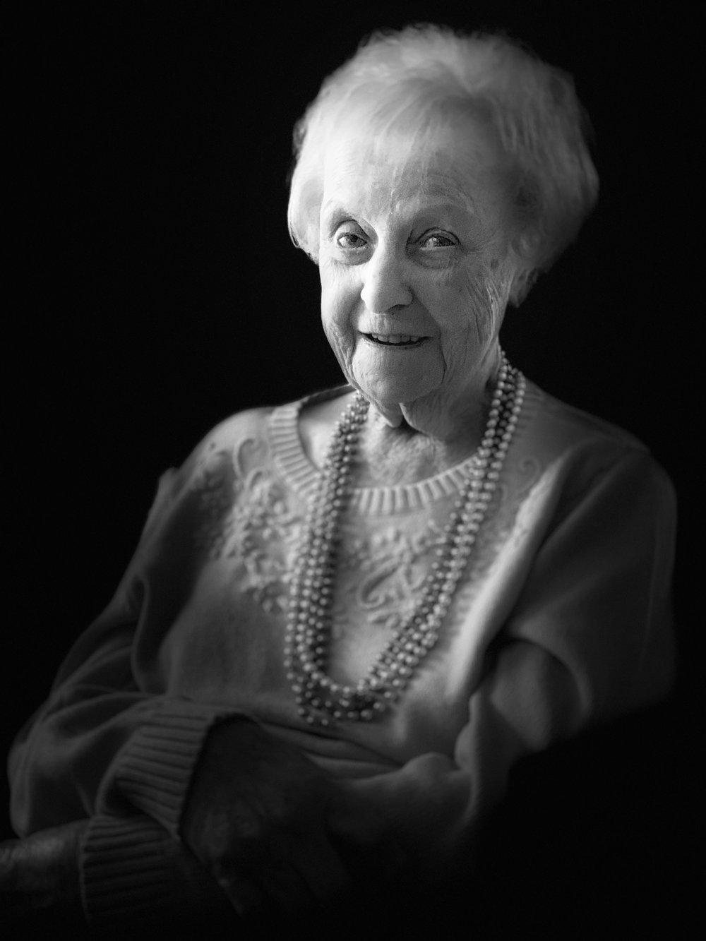 Auntie Joyce at 98 -