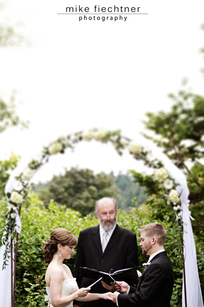 West Seattle wedding at Hall at Fauntleroy shot by Mike Fiechtner Photography