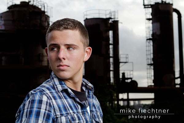 Seattle Senior Portrait by senior photographer Mike Fiechtner Photography in Seattle